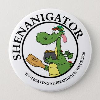 Instigating Shenanigans Since 2016 Round Button