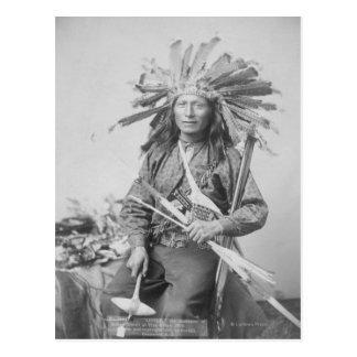Instigator of Indian Revolt at Pine Postcard