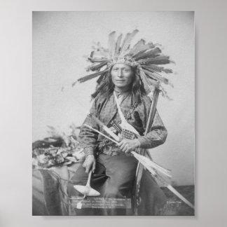 Instigator of Indian Revolt at Pine Print