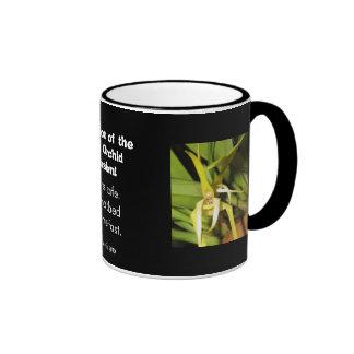 Instigator of the Alien Orchid Invasion Ringer Mug