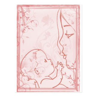 Instinct - Little Loves Art Postcard