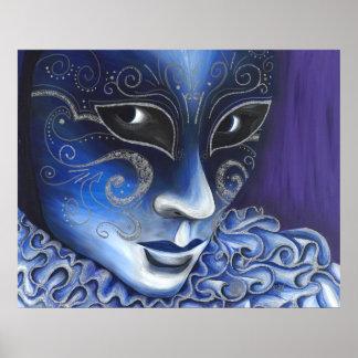 Instinto azul y de plata poster
