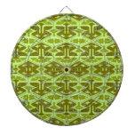 Instinto del art déco - en verde tablero de dardos