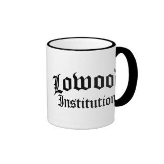Institución de Lowood Taza De Dos Colores