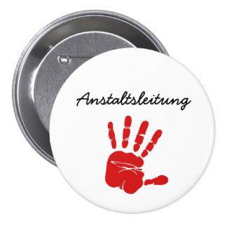 Institute line pinback button
