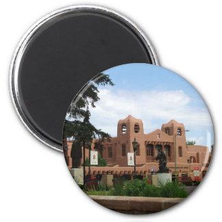 Institute of American Indian Arts Museum 2 Inch Round Magnet