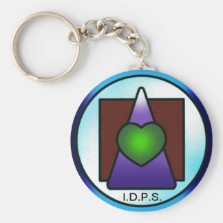 Institute of Divine Philosophical Science Basic Round Button Keychain