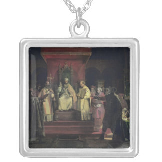 Institution of the Order of the Templars Square Pendant Necklace