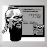 Instituto de Confucio del negocio de Copenhague Posters