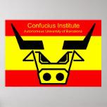 Instituto de Confucio en Barzelona Poster