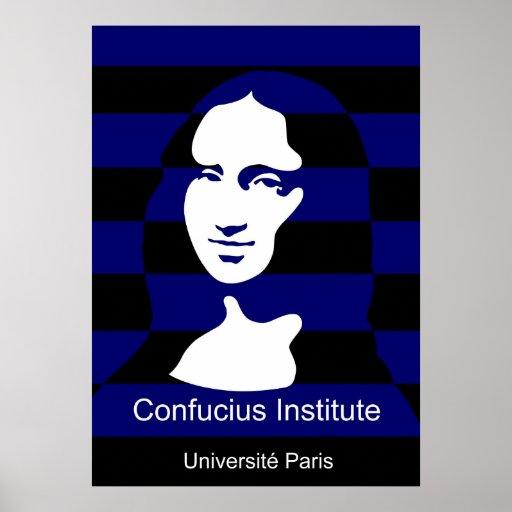 Instituto de Confucio en París, Francia Posters