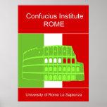 Instituto de Confucio en Roma Posters