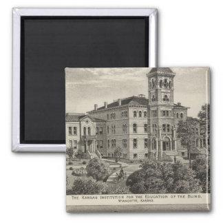 Instituto de Kansas para la educación de las persi Imán Cuadrado