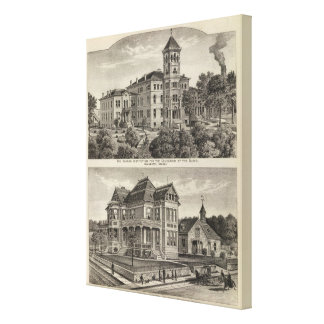 Instituto de Kansas para la educación de las persi Impresión En Lienzo