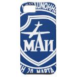 Instituto de la aviación de Moskau 85m m iPhone 5 Case-Mate Coberturas