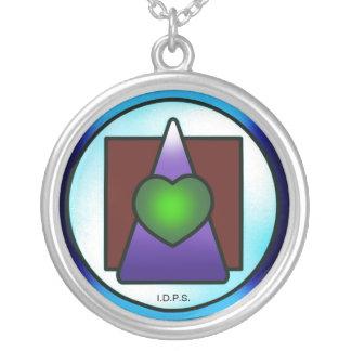 Instituto de la ciencia filosófica divina collar plateado