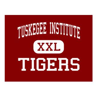 Instituto de Tuskegee - tigres - instituto de Postales