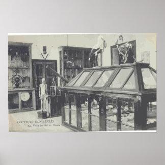 "Instituto Nun"" Alvres, Vintage Print"