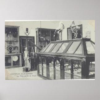 "Instituto Nun"" Alvres, Vintage Posters"