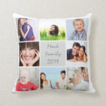 Instragram Modern Stylized Your Photos Pillow