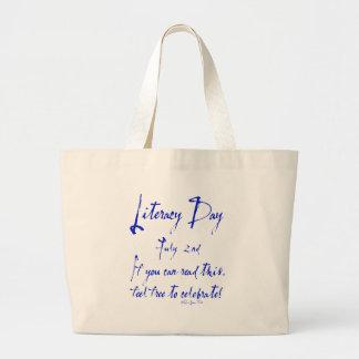 Instrucción día 2 de julio bolsas lienzo
