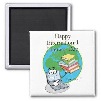 Instrucción día 8 de septiembre internacional iman para frigorífico