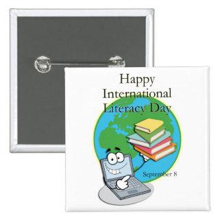 Instrucción día 8 de septiembre internacional pins