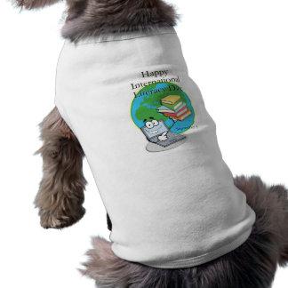 Instrucción día 8 de septiembre internacional camisa de perro