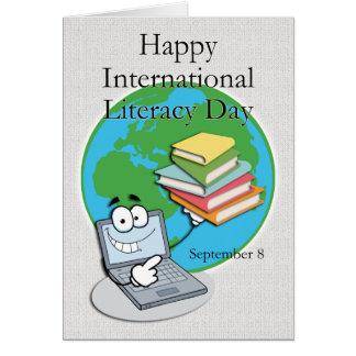 Instrucción día 8 de septiembre internacional felicitación