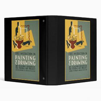 """Instrucción libre en la pintura y el dibujo carpeta 1"""""""