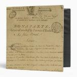 Instrucciones a los soldados publicados por Napole