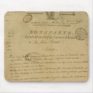 Instrucciones a los soldados publicados por Napole Tapete De Ratones