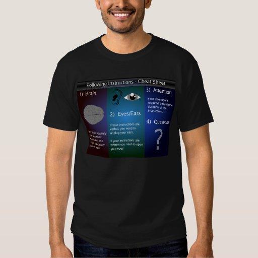 Instrucciones Camisas