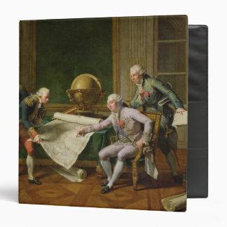 """Instrucciones de donante de Louis XVI al La Carpeta 1 1/2"""""""