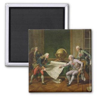 Instrucciones de donante de Louis XVI al La Perous Imán De Nevera
