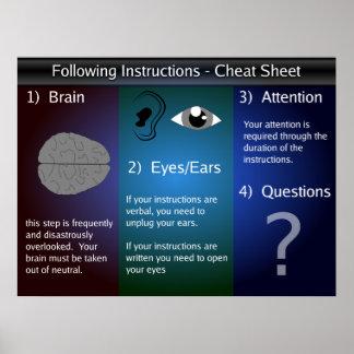 Instrucciones Póster