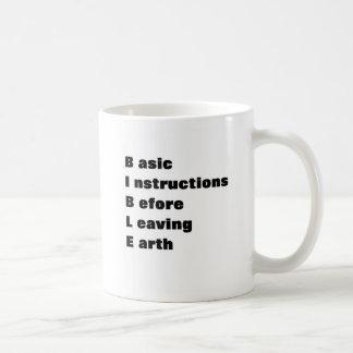 Instrucciones simples taza clásica