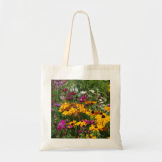 instruction flowers tote bag