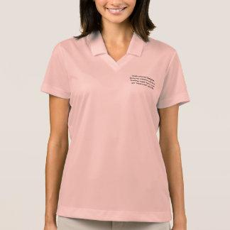 Instructional Design Female Polo Shirt