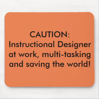 Instructional Designer Mousepad