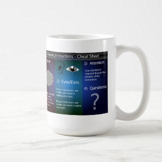 Instructions Coffee Mug