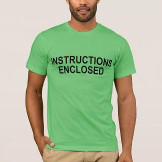 """Instructions enclosed"" T-Shirt"