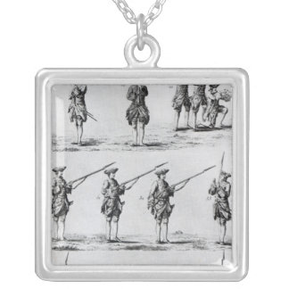 Instructions for a Bayonet Drill Silver Plated Necklace