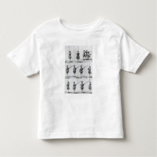 Instructions for a Bayonet Drill Toddler T-shirt