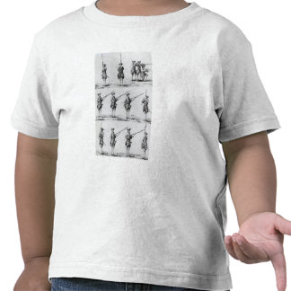 Instructions for a Bayonet Drill Tshirt