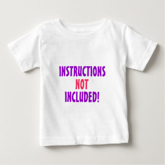 INSTRUCTIONS NOT INCLUDED! Purple & Pink T- Shirt