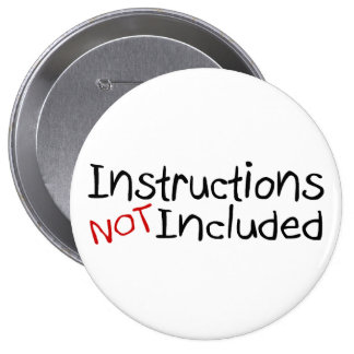Instructions Not Inlcuded 4 Inch Round Button