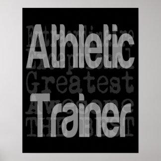 Instructor atlético Extraordinaire Póster