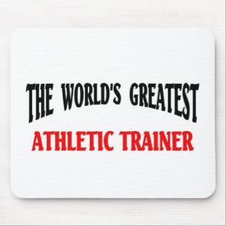 Instructor atlético mouse pad