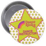instructor_button del dancealong_star_dance pin